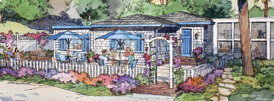 BLue Bell Cottage - Artist Rendering